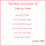 Basic Principles Of Clean Eating