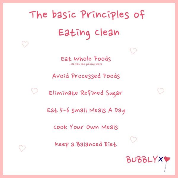 Basic Principles Of Eating Clean